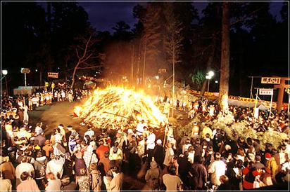 松焚祭イメージ